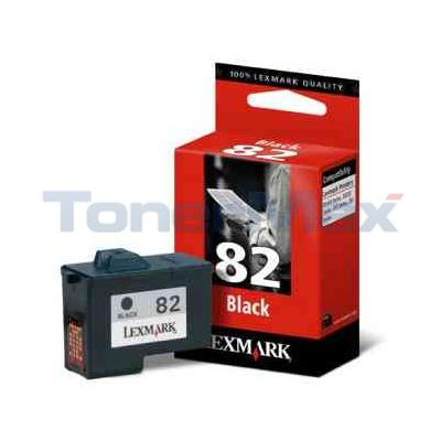LEXMARK NO 82 PRINT CARTRIDGE BLACK